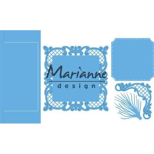 Marianne D Creatable Anja`s vertical folding die (vierkant) LR0571 151 mmx111 mm (12-18)
