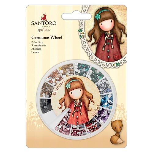 Gemstone Wheel - Santoro - Mirrored