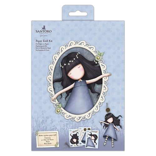 Paper Doll Kit - Santoro - Tiptoes