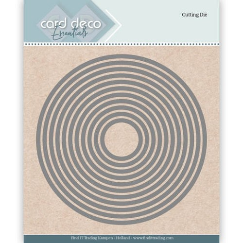 Card Deco Essentials Cutting Dies Round