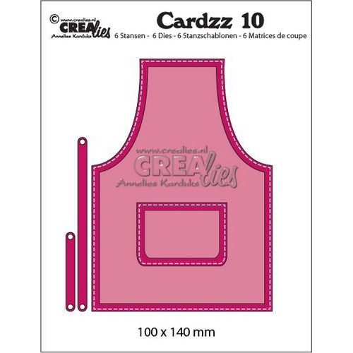 Crealies Cardzz no 10 schort CLCZ10 100x140mm (11-18)