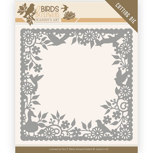 Dies - Jeanine's Art - Birds and Flowers - Birds Frame