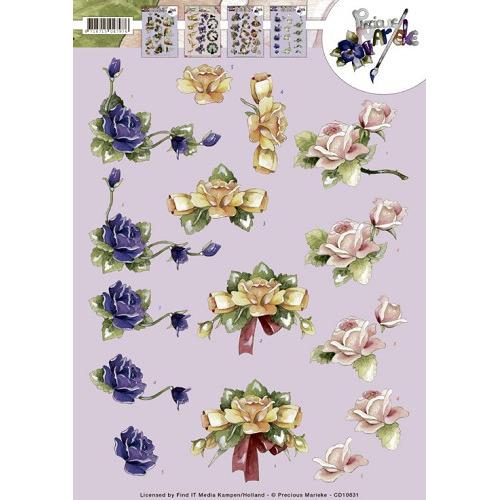 3D Knipvel - Precious Marieke - Roses