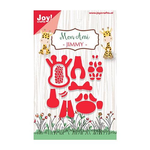 Cutting Snij-stencil - Mon Ami - Giraffe Jimmy
