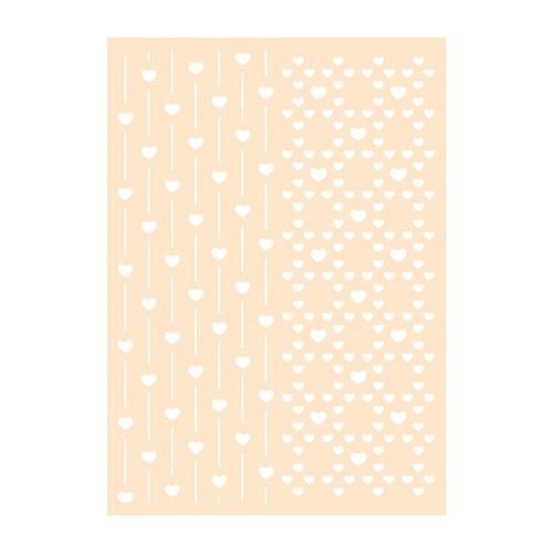 Polybesa stencil - Lovetime