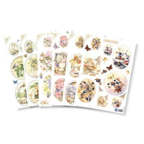 Marianne D Assortiment set Decoupage Mattie`s ovalen PA4082 A4 (01-19)