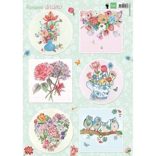 Marianne D 3D Knipvel Romantic Dreams - Groen EWK1265 A4 (01-19)