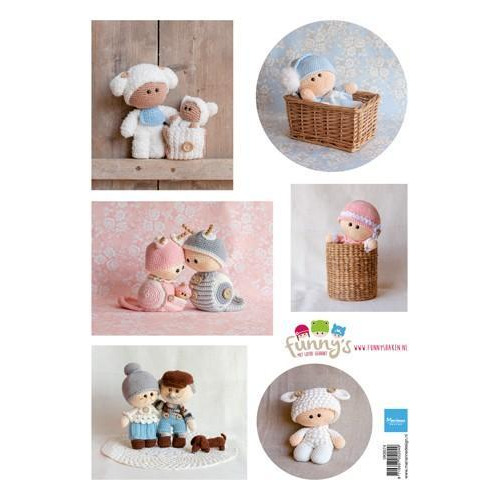 Marianne D Decoupage Ilse`s Funny`s - Baby VK9574 A4 (01-19)