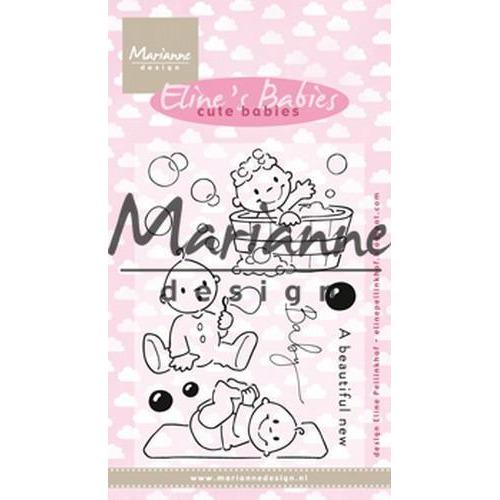 Marianne D Clear stamp Eline's Cute Babies EC0176 18x10 cm (01-19)