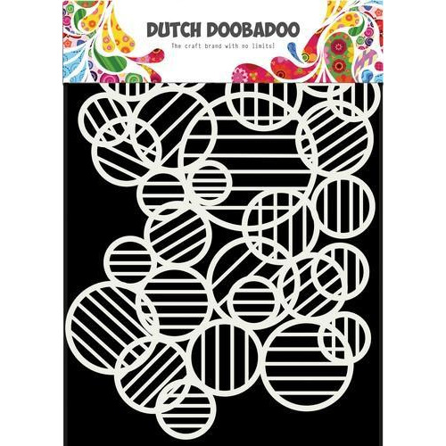 Dutch Doobadoo Dutch Mask Art Circle lines A5 470.715.132 (12-18)