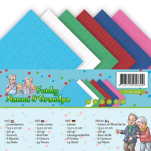 Linnenpakket - A5 - Yvonne Creations - Funky Nanna's