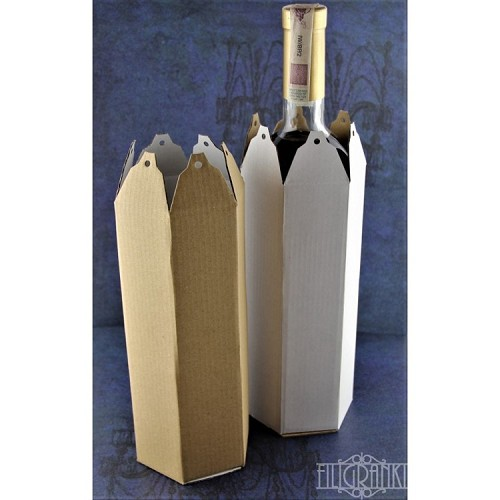 Wine bottle packagings 5pcs set for decorating