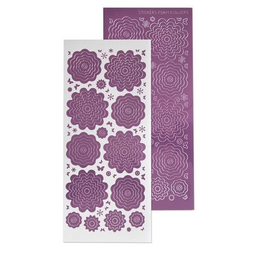 Nested Flowers stickers 6. mirror candy