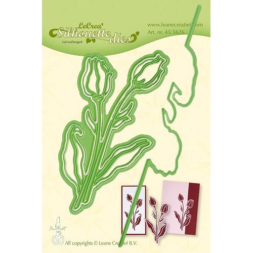 Leabilitie® Silhouette Tulip snijmal