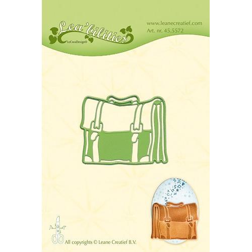 Leabilitie® Schoolbag snij en embossing mal