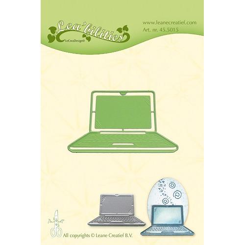 Leabilitie® Laptop  snij en embossing mal
