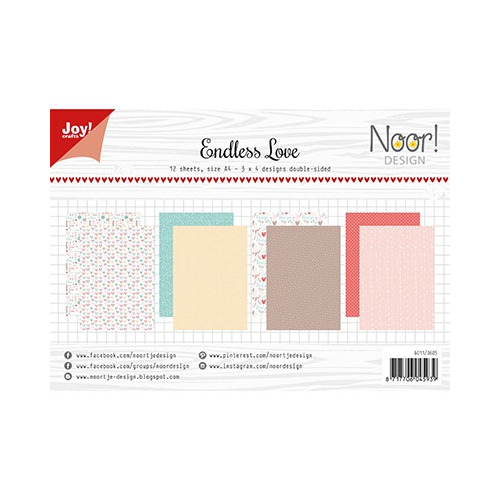 Papier Set A4 Design Endless Love