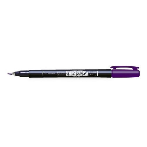 Tombow Brush pen Fudenosuke hard paars 19-WS-BH18