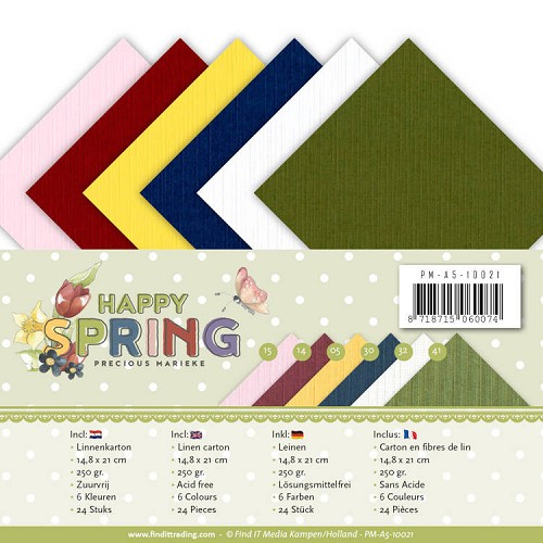 Linnenpakket - A5 - Precious Marieke - Happy Spring
