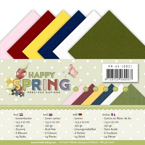 Linnenpakket - 4K - Precious Marieke - Happy Spring
