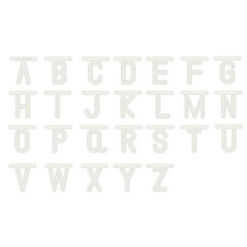 Dutch Doobadoo Dutch Stencil Art Alfabet A-Z (80 x 80 mm) 470.990.110 80mm (01-19)