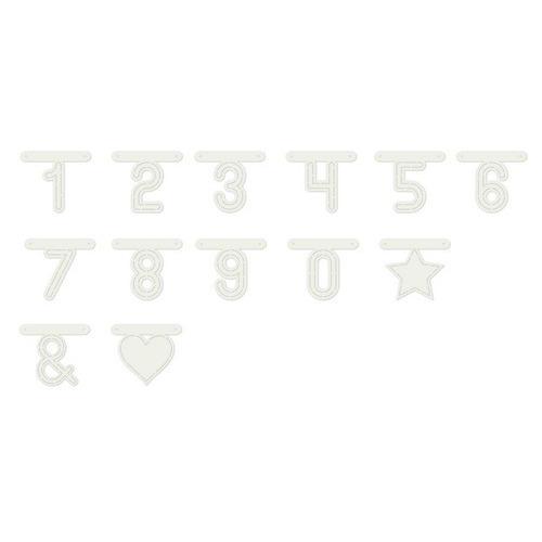 Dutch Doobadoo Dutch Stencil Art nummers (92x 80 mm) 470.990.111 80mm (01-19)