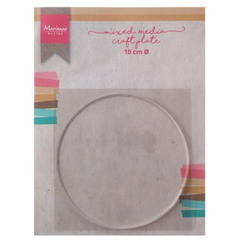 Marianne D Tools MM craft plate cirkel 10 cm LR0016 (02-19)