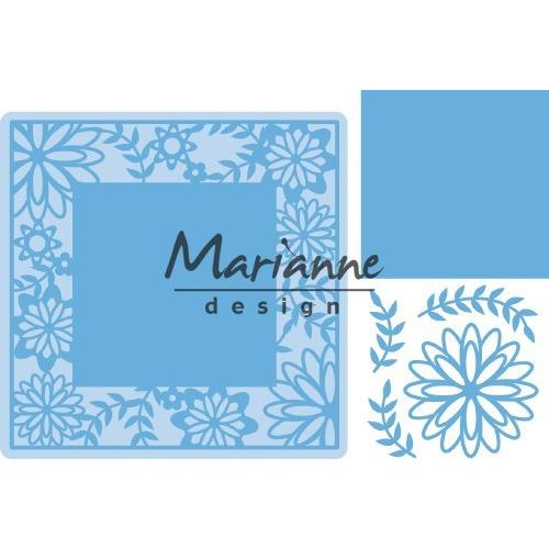 Marianne D Creatable Flower Frame vierkant LR0577 126,6x126,5mm (02-19)