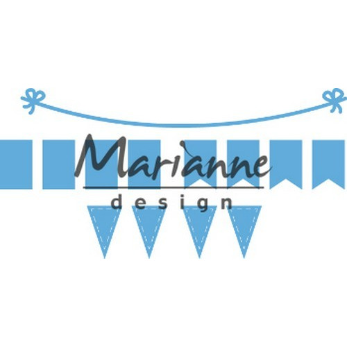 Marianne D Creatable Bunting Banners LR0581 103x12,5mm (02-19)