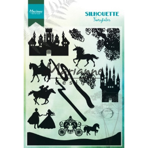 Marianne D Clear Stamps Silhouette Fairytales CS1020 1110x150mm (02-19)