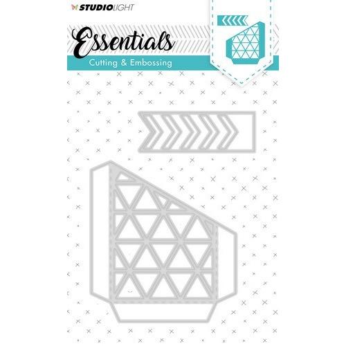 Studio Light Embossing Die Cut Stencil Essentials nr 144 STENCILSL144 (01-19)
