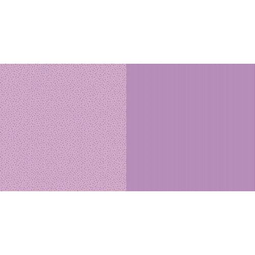 Dini Design Scrappapier 10 vl Streep ster - Violet paars 30,5x30,5cm #1002 (02-19)