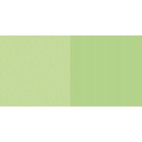 Dini Design Scrappapier 10 vl Streep ster - Lime groen 30,5x30,5cm #1003 (02-19)