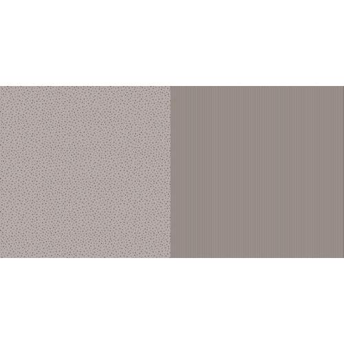 Dini Design Scrappapier 10 vl Streep ster - Mokkabruin 30,5x30,5cm #1009 (02-19)