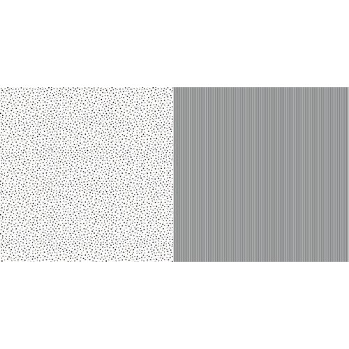Dini Design Scrappapier 10 vl Streep ster - Middernacht 30,5x30,5cm #1010 (02-19)