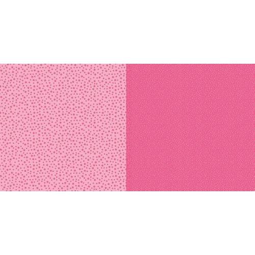 Dini Design Scrappapier 10 vl Stippen bloemen - Watermeloen 30,5x30,5cm #2001 (02-19)