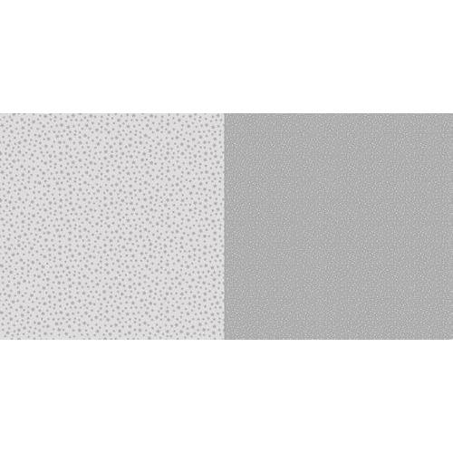 Dini Design Scrappapier 10 vl Stippen bloemen - Steengrijs 30,5x30,5cm #2008 (02-19)