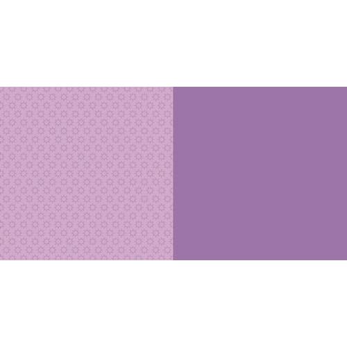 Dini Design Scrappapier 10 vl Anker uni - Violet paars 30,5x30,5cm #3002 (02-19)