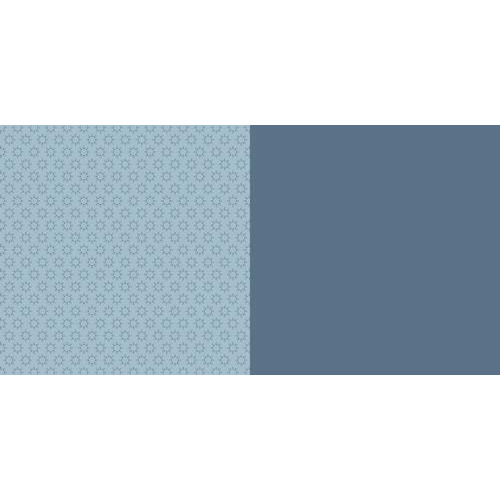 Dini Design Scrappapier 10 vl Anker uni - Zweeds blauw 30,5x30,5cm #3006 (02-19)