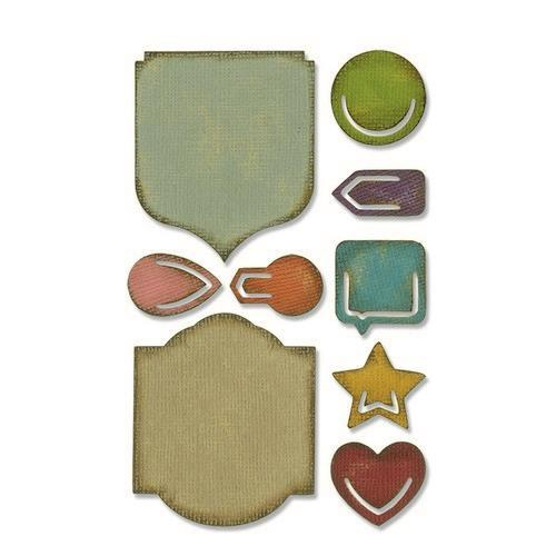 Sizzix Sidekick Side-Order Set Noted 664150 Tim Holtz (01-19)