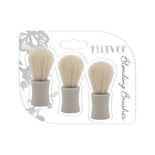 Nuvo Blending brushes - borstels 3 stuks 970N (01-19)