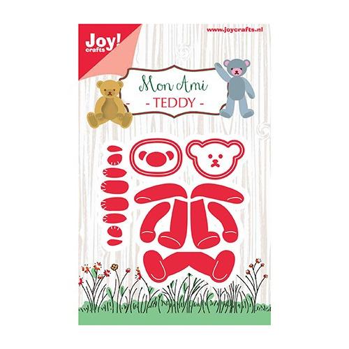 Snijstencil - Mon Ami - Beertje Teddy