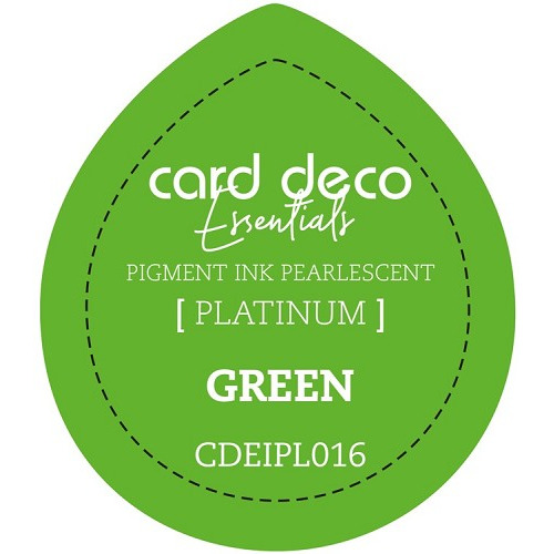 Card Deco Essentials Fast-Drying Pigment Ink Pearlescent Green