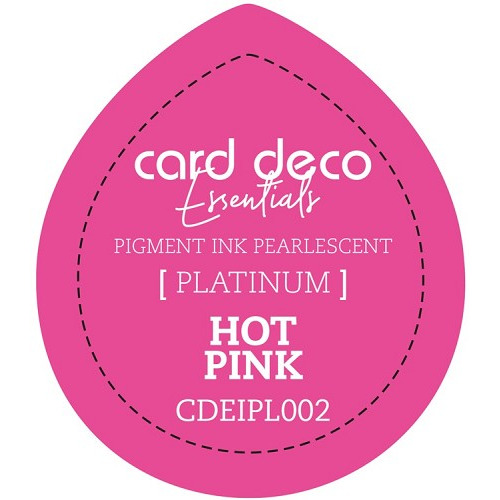 Card Deco Essentials Fast-Drying Pigment Ink Pearlescent Hot Pink