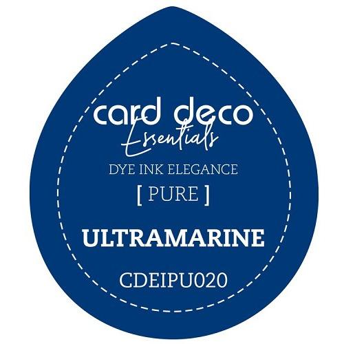 Card Deco Essentials Fade-Resistant Dye Ink Ultramarine