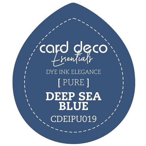 Card Deco Essentials Fade-Resistant Dye Ink Deep Sea Blue