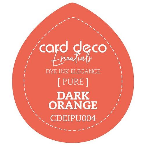 Card Deco Essentials Fade-Resistant Dye Ink Dark Orange