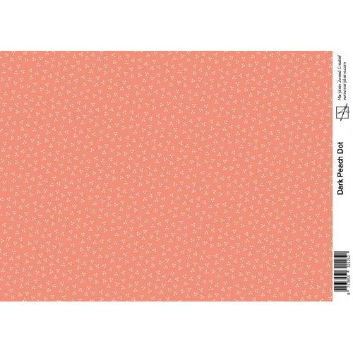 Marjoleine`s Decoupage sheets - dark peach A4