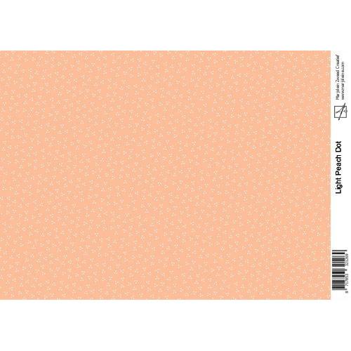 Marjoleine's Decoupage sheets - light peach A4