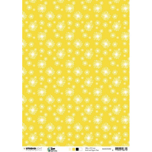 Studio Light Achtergrondpapier 1vel A4 Create Happiness nr 280 BASISCR280 (02-19)